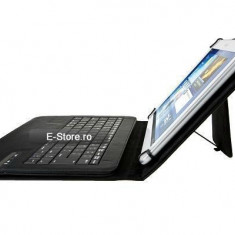 Husa cu tastatura wireless, adaptabila pt. tablete 9-10 inch (cod:ADP910) - Tastatura tableta, Universal