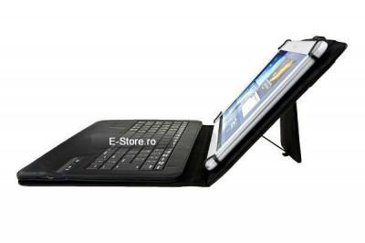 Husa cu tastatura wireless, adaptabila pt. tablete 9-10 inch (cod:ADP910) foto