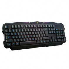 Tastatura gaming iluminata Omega Varr, USB, Tastatura iluminata