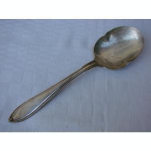 Lingura pentru compot din alpaca argintata