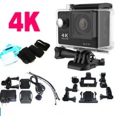 Camera Sport ACTIUNE 4K Waterproof WiFi, Full HD 1080P, 12 MPX, WIFI - Camera Video Actiune, Card de memorie