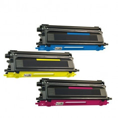 Cartus Toner TN130, TN135, TN170 C/M/Y compatibil Brother remanufacturat - Chip imprimanta Speed