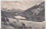 Bnk cp Muntii Fagarasului - Buceciu si Suler - necirculata interbelica, Circulata, Printata