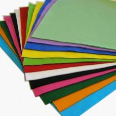Pasla colorata fetru A4 grosime 2 mm