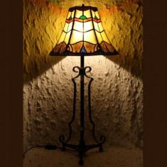 LAMPA TIFFANY REGAL YELLOW, Lampi