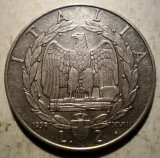 B.678 ITALIA WWII VITTORIO EMANUELE III 2 LIRE 1939 NON MAGNETIC, Europa