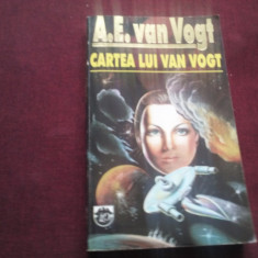 A E VAN VOGT - CARTEA LUI VAN VOGT - Carte SF
