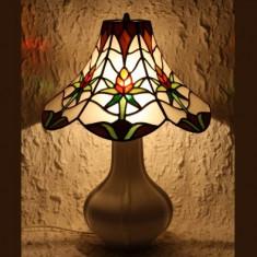 LAMPA TIFFANY GREEN ORCHID, Lampi