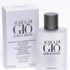Acqua Di Gio Armani 100 ml Original Varianta Tester - Parfum barbati Armani, Apa de toaleta