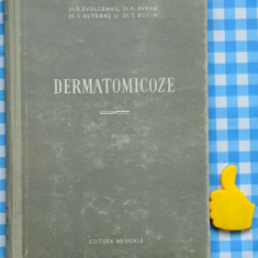 Dermatomicoze R Evolceanu A Avram i Alteras T Roxin - Carte Dermatologie si venerologie