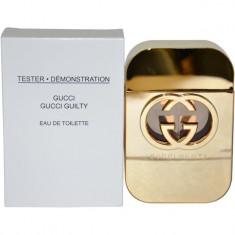 GUCCI GUILTY WOMAN EAU DE TOILETTE 75 ml Original Varianta Tester - Parfum femeie Gucci, Apa de toaleta