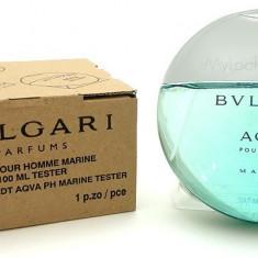 BVLGARI AQUA MARINE 100 ml Original Varianta Tester - Parfum barbati Bvlgari, Apa de toaleta
