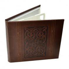 Carcasa 4 DVD CD Line, piele ecologica cu model celtic