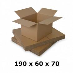 Cutie carton 190 x 60 x 70, ondula C
