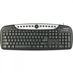 Tastatura Multimedia K-2015 Activejet USB 20 taste multimedia, Cu fir