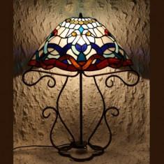 LAMPA TIFFANY VICTORIAN AZUR, Lampi