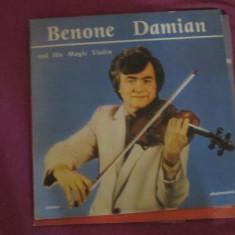 Vinil benone damian - Muzica Clasica Altele