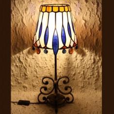 LAMPA TIFFANY ORIENTAL AZUR, Lampi