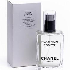 Chanel Platinum Egoiste Eau de Toilette 100 ml Original Varianta Tester - Parfum barbati Chanel, Apa de toaleta