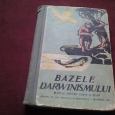 MANUAL BAZELE DARWINISMULUI 1961 - Carte Zoologie