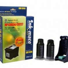 Kit complet de refill cerneala black cartuse originale HP14 - Kit refill imprimanta