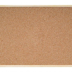 Panou de pluta pentru mesaje 1200x900mm rama lemn