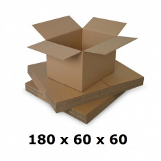 Cutie carton 180 x 60 x 60, natur, ondula C