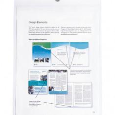 Folie protectie tip buzunar cu capsa de prindere, A4, set 10 - Mapa Papetarie