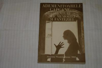 Almanahul Romaniei literare - 1984 - Ademenitoarele capcane ... aventuri .... foto