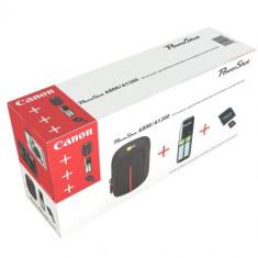 Set 3 accesorii ( CARD + HUSA + INCARCATOR 2 ACC ) pt. aparate foto compacte nou