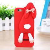 Husa Iphone 6 Moschino iepure rosu