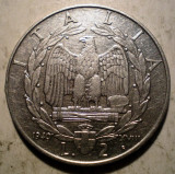 B.681 ITALIA WWII VITTORIO EMANUELE III 2 LIRE 1940 NON MAGNETIC, Europa