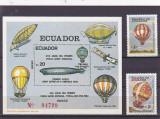 Navigatie aeriana ,baloane ,zepeline ....Ecuador., Nestampilat