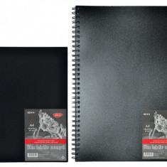 Bloc desen, hartie neagra, 140g, 30 file - Instrumente desen