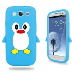 Husa silicon pinguin pentru Samsung Galaxy S3 i9300