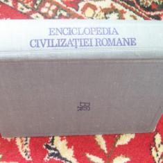 ENCICLOPEDIA CIVILIZATIEI ROMANE DUMITRU TUDOR - Enciclopedie