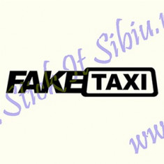 Fake Taxi_Tuning Auto_Cod: CST-459_Dim: 15 cm. x 2.8 cm. - Stickere tuning