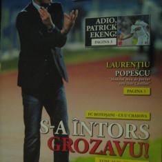 FC Botosani-Universitatea Craiova (nr.52 din 2016) / Program LPF