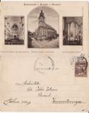 Brasov, Kronstadt  -Biserica Neagra- clasica,  rara, Circulata, Printata