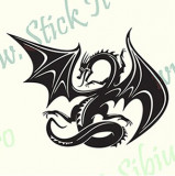 Dragon Tribal-Model 3_Tuning Auto_Cod: TRI-018_Dim: 30 cm. x 22.2 cm.