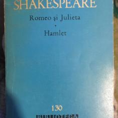 Romeo si Julieta Hamlet / Shakespeare - Carte Teatru