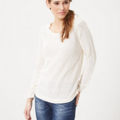Pulover dama - Vero Moda - 10147773 ivoire, Marime: 42, Culoare: Alb