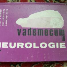 VADEMECUM IN NEUROLOGIE SAVA LAZARESCU - Carte Neurologie