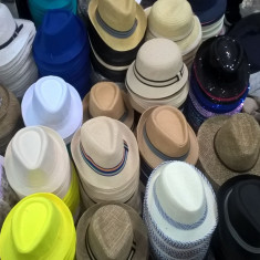 Palarie de vara pălării pentru bărbați si Fete pălării de plajă - Palarii Barbati