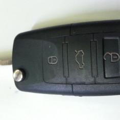 carcasa chei vw cu 3 butoane +logo