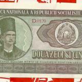 25 lei 1966 UNC-SERIA-D 0120 104 - Bancnota romaneasca