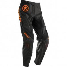 MXE Pantaloni motocross copii Thor Phase Gasket, portocaliu fluo/negru Cod Produs: 29031329PE - Imbracaminte moto