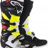 MXE Cizme motocross Alpinestars Tech7 culoare alb/negru/galben Cod Produs: 2012014136