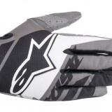 MXE Manusi motocross Alpinestars Racer Supermatic, negru/alb/gri Cod Produs: 35615161531LAU