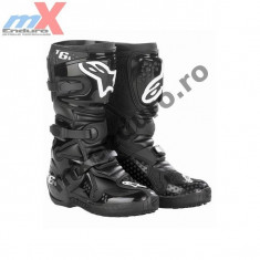 MXE Cizme cross copii Alpinestars, culoare negre Cod Produs: 20150610 - Cizme Moto